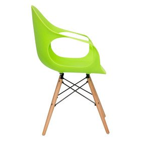 Стул Eames DAW Light зеленый