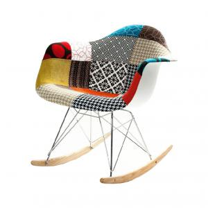 Стул Eames Style RAR Chair PATCHWORK