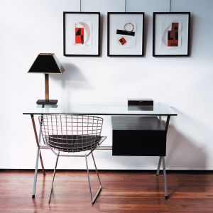 СТУЛ HARRY BERTOIA SIDE CHAIR ( Wire Side ) хром