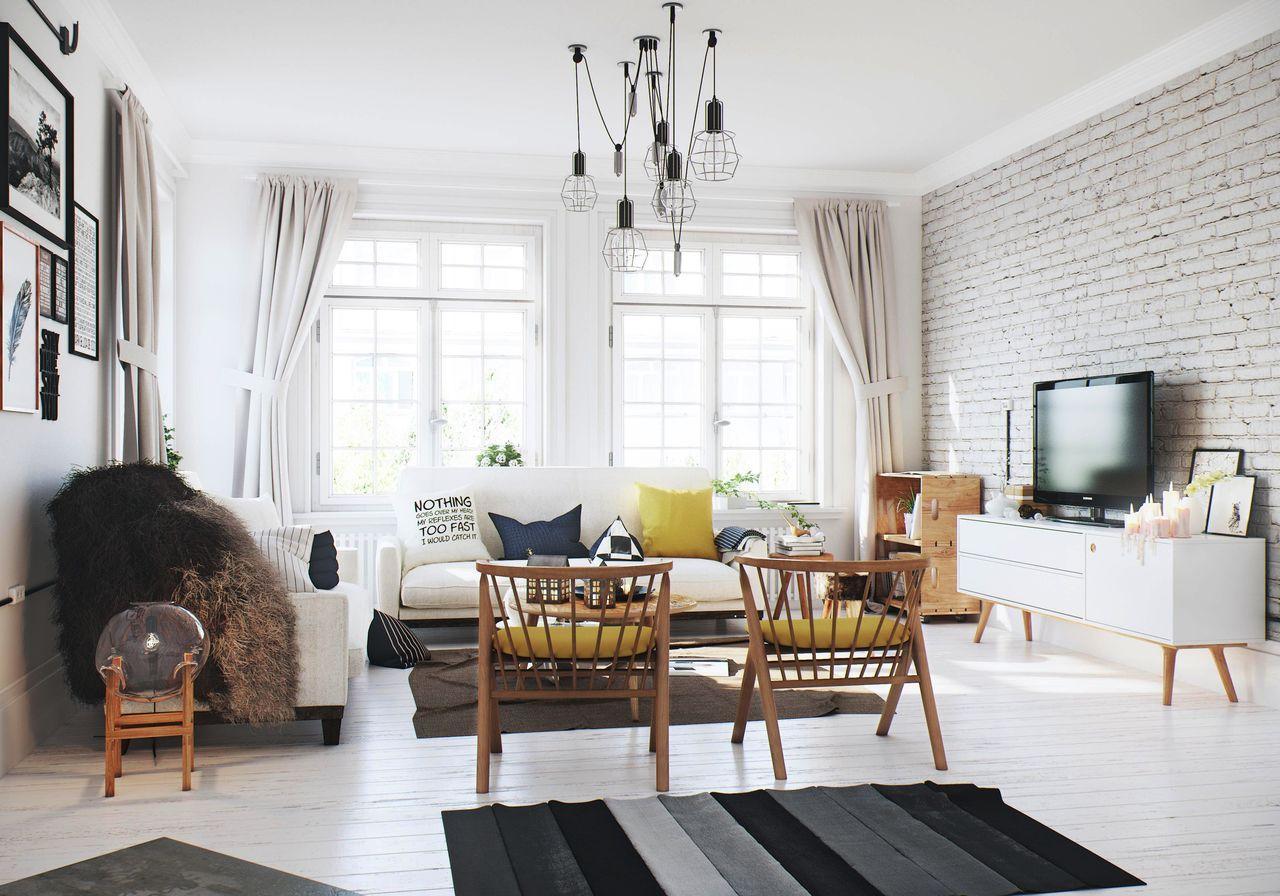Интерьеры фото квартир в скандинавском стиле